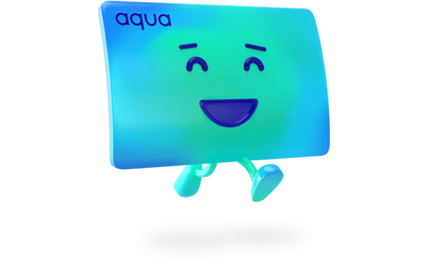 Aqua happy running
